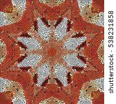 mosaic colorful pattern for... | Shutterstock . vector #538231858