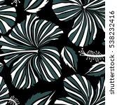 creative universal floral... | Shutterstock .eps vector #538232416