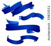 blue banner | Shutterstock . vector #53825011