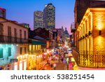 pubs and bars with neon lights... | Shutterstock . vector #538251454