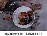 Chocolate Fondant With Berries...