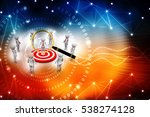 3d render of business people... | Shutterstock . vector #538274128