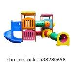 Playground Isolated On White...
