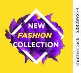 new arrivals concept for... | Shutterstock .eps vector #538289374