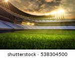 3d render emptry stadium... | Shutterstock . vector #538304500