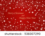 christmas background vector  ... | Shutterstock .eps vector #538307290