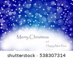 christmas background vector  ... | Shutterstock .eps vector #538307314