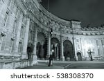 admiralty arch near trafalgar... | Shutterstock . vector #538308370