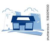 vector generic store...   Shutterstock .eps vector #538309030