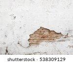 background destroyed concrete... | Shutterstock . vector #538309129