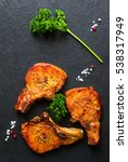 Roasted Pork Steaks  Cutlets...