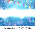 blue background with color... | Shutterstock .eps vector #538318546