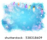 background for christmas and... | Shutterstock .eps vector #538318609