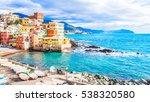 sea in a winter day in... | Shutterstock . vector #538320580
