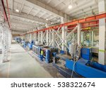 industrial injection molding... | Shutterstock . vector #538322674