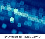 abstract tech background  ... | Shutterstock . vector #538323940