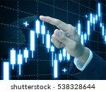 trading stock | Shutterstock . vector #538328644