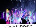 defocused entertainment concert ...   Shutterstock . vector #538341520