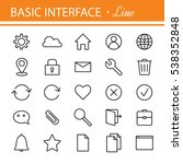 web and computer basic icons....