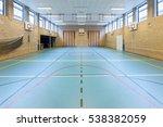 empty european gym class for... | Shutterstock . vector #538382059