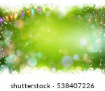 new year s background   garland ... | Shutterstock .eps vector #538407226