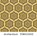 luxury black and gold color... | Shutterstock .eps vector #538413343
