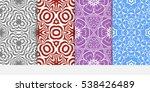 luxury seamless purple  red ... | Shutterstock .eps vector #538426489
