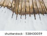 Ski Resort. Wooden Floor ...