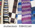 colorful carpet texture.... | Shutterstock . vector #538431160