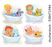clip art illustrations of... | Shutterstock .eps vector #538471984