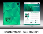 annual report brochure flyer... | Shutterstock .eps vector #538489804