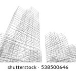 city buildings architectural... | Shutterstock .eps vector #538500646