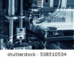 electronic three dimensional... | Shutterstock . vector #538510534