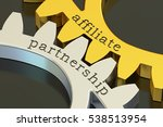 affiliate partnership concept... | Shutterstock . vector #538513954