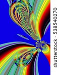 beautiful abstract pattern.... | Shutterstock . vector #538540270