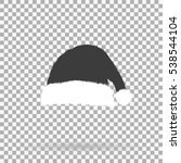 santa claus hat icon for... | Shutterstock .eps vector #538544104