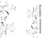 floral element for design | Shutterstock .eps vector #53854756