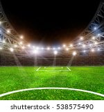 the stadium with peole the... | Shutterstock . vector #538575490