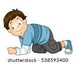 illustration of a cute little...   Shutterstock .eps vector #538593400