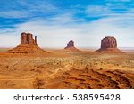 monumet valley   united states... | Shutterstock . vector #538595428
