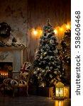 christmas decorations christmas ... | Shutterstock . vector #538606468