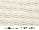 close up of jersey fabric... | Shutterstock . vector #538612033