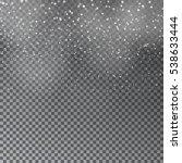 falling christmas shining...   Shutterstock .eps vector #538633444