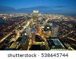 Stock photo boston night 538645744