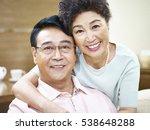 portrait of a happy senior... | Shutterstock . vector #538648288