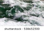 Stormy Ocean Water As A...