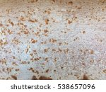 dirty rusty metal plate for... | Shutterstock . vector #538657096
