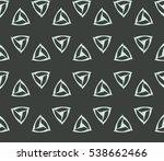 vector seamless pattern. modern ... | Shutterstock .eps vector #538662466