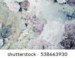 velvet fabric  silk  jacquard....   Shutterstock . vector #538663930