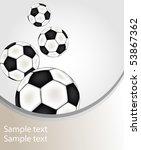 vector football.   Shutterstock .eps vector #53867362